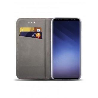 """Auksinis atverčiamas dėklas Samsung Galaxy G960 S9 telefonui """"Smart Magnet"""""""