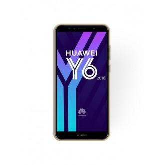 "Auksinis blizgantis silikoninis dėklas Huawei Y6 2018 telefonui ""Shining"""