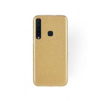 """Auksinis blizgantis silikoninis dėklas Samsung Galaxy A9 2018 telefonui """"Shining"""""""