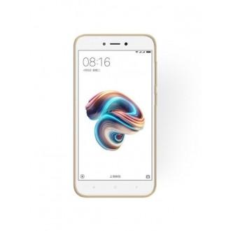 "Auksinis blizgantis silikoninis dėklas Xiaomi Redmi 5A telefonui ""Shining"""