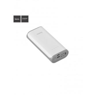Balta išorinė baterija POWER BANK HOCO B21 5200mAh