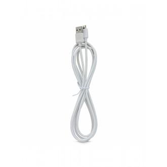 "Baltas USB kabelis ""Leslie"" S140 ""microUSB"" FastCharging  2.0m"