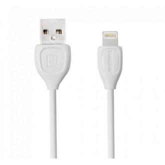 Baltas USB kabelis Remax RC-050i Lesu Lightning 1.0m