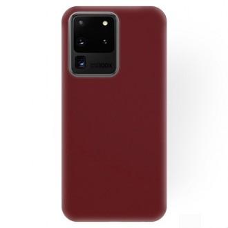 """Bordo silikoninis dėklas Samsung Galaxy S20 Ultra telefonui """"Rubber TPU"""""""