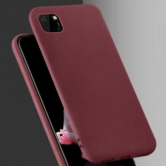 Bordo spalvos dėklas X-Level Guardian Huawei Y5P telefonui