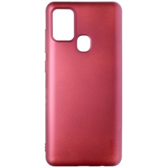 Bordo spalvos dėklas X-Level Guardian Samsung Galaxy A217 A21s telefonui