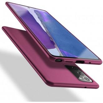 Bordo spalvos dėklas X-Level Guardian Samsung Galaxy Note 20 telefonui