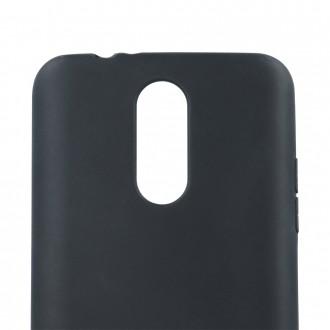 """Juodas, matinis silikoninis dėklas, skirtas """"Samsung A72"""