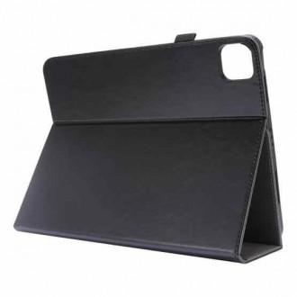 """Juodas atverčiamas dėklas """"Folding Leather"""" planšetei Lenovo Tab P11 / IdeaTab P11 J606F"""