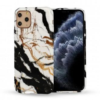 Dėklas Marble Silicone Samsung A51 telefonui (Design 3)
