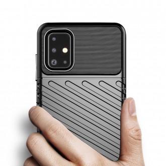 Juodas dėklas Thunder iPhone 13 Pro telefonui