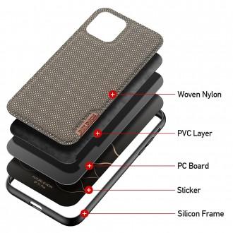 Juodos spalvos Dux Ducis dėklas ''Fino'' telefonui Samsung S21