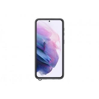 """Originalus Samsung Galaxy S21 PLUS telefonui skaidrus - juodas """"Clear Protective Cover"""""""