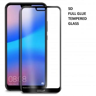 "LCD apsauginis stikliukas ""5D Full Glue HQ Quality''  Huawei P20 Lite"