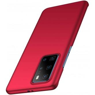 Vyno spalvos spalvos dėklas X-Level Guardian Huawei P40 telefonui