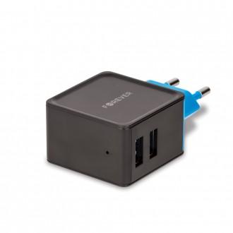 Įkroviklis buitinis Forever TC-04 su dviem USB jungtimis (3.4A)