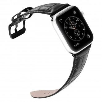 """Juoda apyrankė Dux Ducis """"Luxury Version"""" 42 / 44mm Apple Watch"""