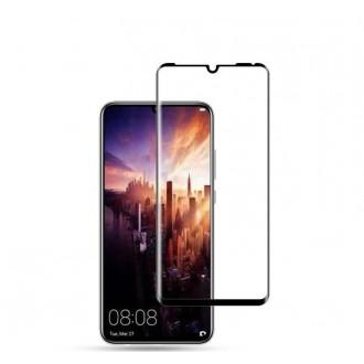 Juodas 3D apsauginis grūdintas stiklas Huawei P30 Pro telefonui