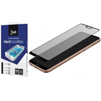 """Juodas 3D apsauginis stikliukas """"3MK Hard Glass"""" Huawei P20 Pro telefonui"""