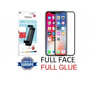 "Juodas apsauginis grūdintas stiklas Apple iPhone X / XS / 11 Pro telefonui ""MyScreen Lite Edge Full Glue"""