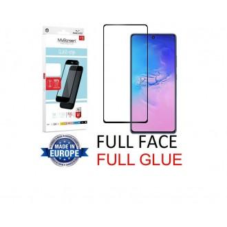 """Juodas apsauginis grūdintas stiklas Samsung Galaxy S10 Lite / A91 telefonui """"MyScreen Lite Edge Full Glue"""""""