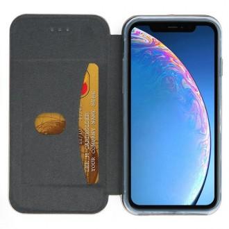 """Juodas atverčiamas dėklas """"Book Elegance"""" telefonui Samsung S10 Plus"""
