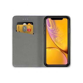 """Juodas atverčiamas dėklas Apple iPhone XR telefonui """"Smart Magnet"""""""