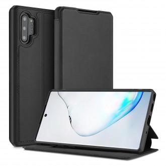Juodas atverčiamas dėklas Dux Ducis Skin X Samsung Galaxy N975 Note 10 Plus telefonui