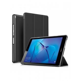 """Juodas atverčiamas dėklas Huawei MediaPad T3 8.0 """"Smart Leather"""""""