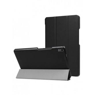 """Juodas atverčiamas dėklas Lenovo Tab 4 8.0 Plus """"Smart Leather"""""""