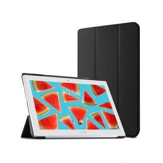 """Juodas atverčiamas dėklas Lenovo Tab 4 Plus 10.0 """"Smart Leather"""""""