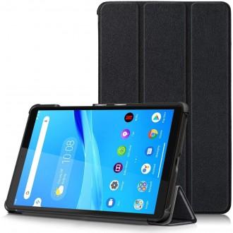"""Juodas atverčiamas dėklas Lenovo Tab M8 8.0 """"Smart Leather"""""""
