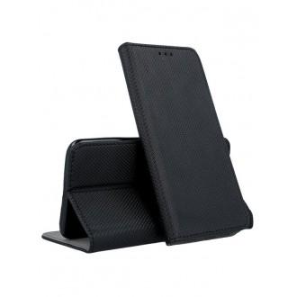 """Juodas atverčiamas dėklas Nokia 6.1 / 6 2018 telefonui """"Smart Magnet"""""""