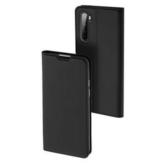 """Juodas atverčiamas dėklas OnePlus Nord telefonui """"Dux Ducis Skin"""""""