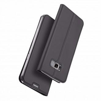 """Juodas atverčiamas dėklas Samsung Galaxy G950 S8 telefonui """"Dux Ducis Skin"""""""