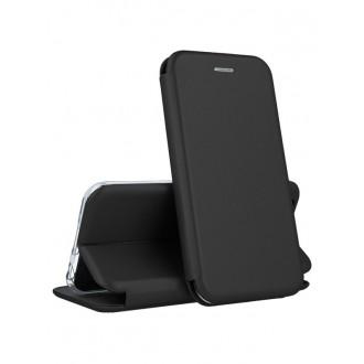 """Juodas atverčiamas dėklas Samsung Galaxy J530 J5 2017 telefonui """"Book Elegance"""" (EUROPOS RINKAI)"""