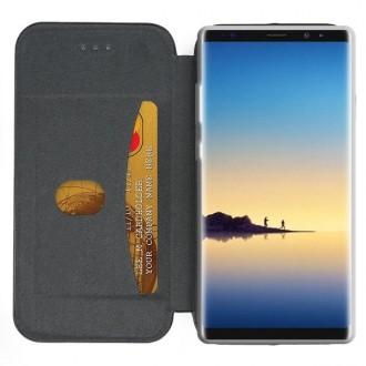 """Juodas atverčiamas dėklas Samsung Galaxy N960 Note 9 telefonui """"Book Elegance"""""""