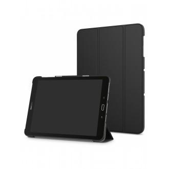 """Juodas atverčiamas dėklas Samsung T825 Tab S3 9.7 """"Smart Leather"""""""