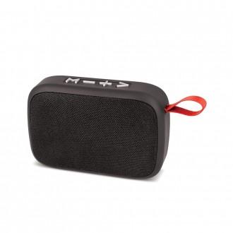 Juodas Bluetooth nešiojamas garsiakalbis Forever Simple BS-140 (USB, MicroSD)