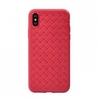 """Raudonas dėklas """"Devia Yison"""" Apple iPhone X / XS telefonui"""