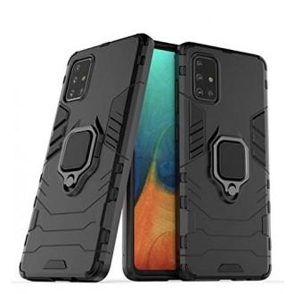 """Juodas dėklas Samsung Galaxy A515 A51 telefonui """"Hybrid"""""""