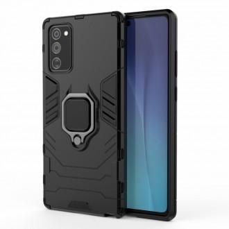 """Juodas dėklas Samsung Galaxy Note 20 telefonui """"Hybrid"""""""