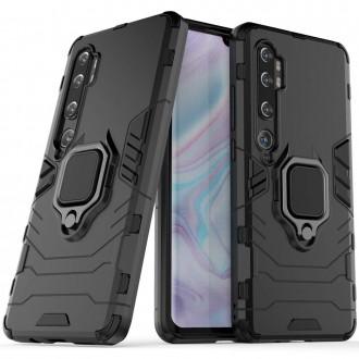 "Juodas dėklas Xiaomi Mi Note 10 / Mi Note 10 Pro / Mi CC9 Pro telefonui ""Hybrid"""