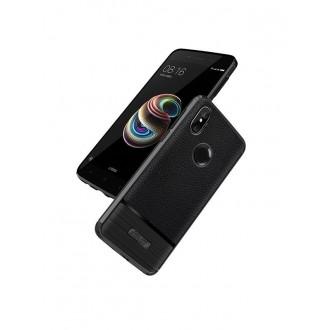 """Juodas dėklas Xiaomi Redmi S2 / Y2 telefonui """"Rugged Carbon"""""""
