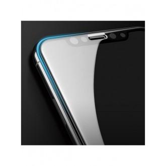 """Juodas grūdintas stiklas """"5D Full Glue"""" Huawei P8/P9 Lite 2017 telefonui"""