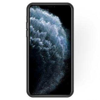 """Juodas silikoninis dėklas Apple iPhone 11 Pro telefonui """"Rubber TPU"""""""