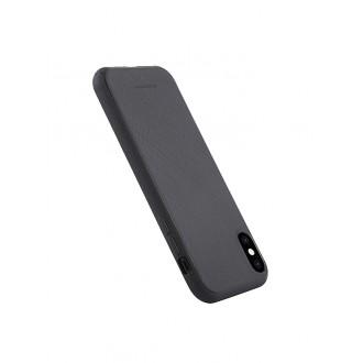 """Juodas silikoninis dėklas Apple iPhone XS Max telefonui Mercury Goospery """"Style Lux"""""""