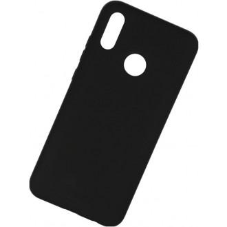 """Juodas silikoninis dėklas Huawei P Smart 2019 telefonui """"Mercury Soft Feeling"""""""
