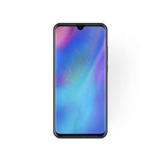 """Juodas silikoninis dėklas Huawei P30 Pro telefonui """"Rubber TPU"""""""