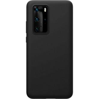 """Juodas silikoninis dėklas Huawei P40 Pro telefonui """"Mercury Soft Feeling"""""""